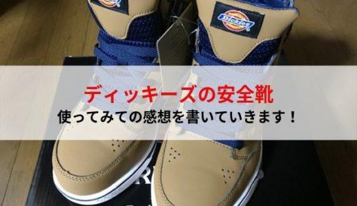 ディッキーズの安全靴を使ってみての感想